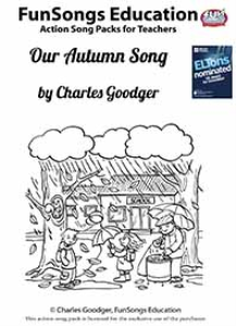 our autumn song action song package