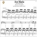 Ave Maria, D. 839 in F-Sharp Major (Contralto). In German. F.Schubert. Digital score after Peters Friedlaender Edition (PD).  A5 (landscape).Tablet Sheet Music Download. | eBooks | Sheet Music