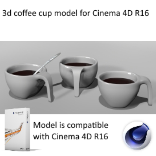 First Additional product image for - design coffee cup model with spoon