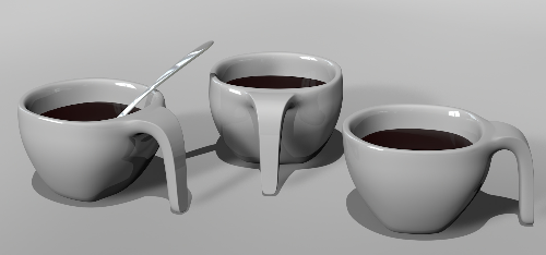 Second Additional product image for - design coffee cup model with spoon