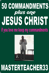 50 COMMANDMENTS plus one OF JESUS CHRIST | eBooks | Religion and Spirituality