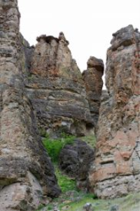 oregon rock formation landscape photo by coralie