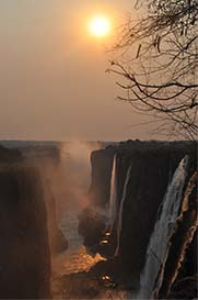 Victoria Falls Sunset | Photos and Images | Nature