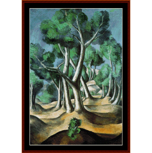 The Grove, 1912 - Derain cross stitch pattern by Cross Stitch Collectibles | Crafting | Cross-Stitch | Wall Hangings