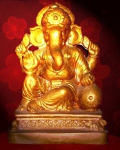 ganesh (the statue of indian god)