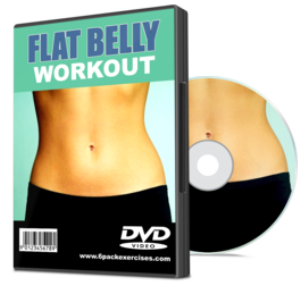 flat belly workout video