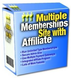 Multiple Membership Site With Affiliates With Master Resale Rights | Software | Developer