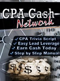 CPA Cash Network Script And Ebook  (MRR) | Software | Business | Other