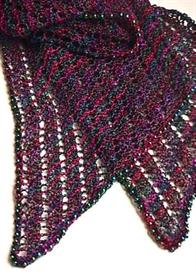 A Beaded Bias Towards Lace Scarf knitting pattern - PDF | Other Files | Arts and Crafts