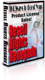 Resell Rights Renegade With MRR | eBooks | Business and Money