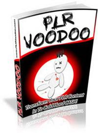 PLR Voodoo With Master Resale Rights | eBooks | Business and Money