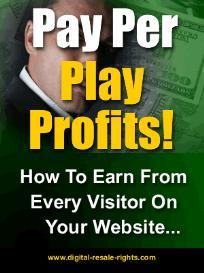 Pay Per Play Profits With Master Resale Rights | eBooks | Business and Money