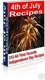 4th of July Recipes -With Master Resale Rights | eBooks | Food and Cooking