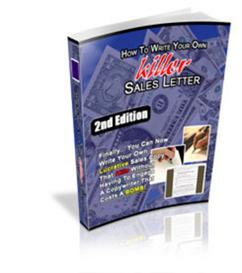 How To Write killer Sales Letter 2nd Edition With Master Resale Rights | eBooks | Business and Money