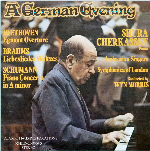 A German Evening - Shura Cherkassky/Wyn Morris | Music | Classical