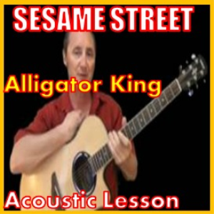 Learn to play Alligator King by Sesame Street | Movies and Videos | Educational