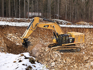CAT Excavator | Photos and Images | Technology