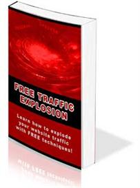 free traffic guide - explode your website traffic with free techniques