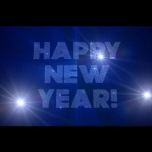 happy new year 2016: diamonds: