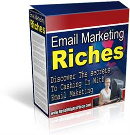Email Marketing Riches: Discover the Secrets to Cashing In With Emails | eBooks | Business and Money