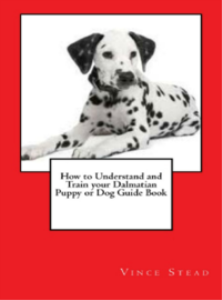 how to understand and train your dalmatian puppy or dog guide boo