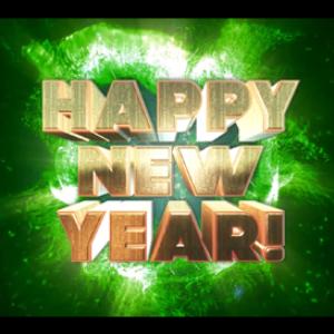 happy new year 2016: big boom: