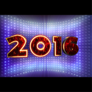 happy new year 2016: sparkle: