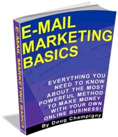 e-mail marketing basics -master resale rights
