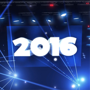happy new year 2016: lasers: