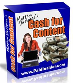 Cash For Content System (MRR Included) | eBooks | Business and Money