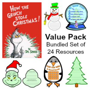 Value Pack:  How the Grinch Stole Christmas & 23 More Winter Resource Sets | Other Files | Documents and Forms