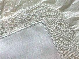 Lace-edged Hanky knitting pattern - PDF | Other Files | Arts and Crafts