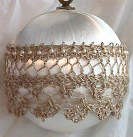 Antique Satin and Lace Ornament knitting pattern - PDF   Other Files   Arts and Crafts
