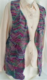 Bold Diamonds Vest knitting pattern - PDF | Other Files | Arts and Crafts