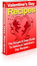 valentines day recipes with master resale rights