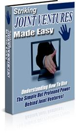 Striking Joint Ventures Made Easy ebook With Master Resale Rights | eBooks | Business and Money