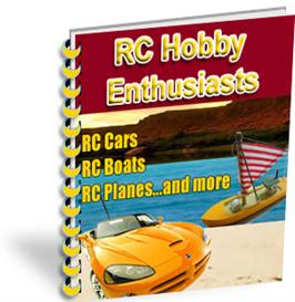 rc hobby enthusiasts with master resale rights