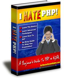 Hate PHP A Beginners Guide To PHP& MySQL (MRR) | eBooks | Technical