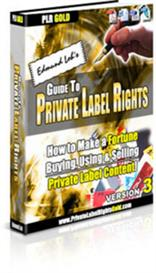 Guide To Private Labels Rights With Master Resale Rights | eBooks | Business and Money