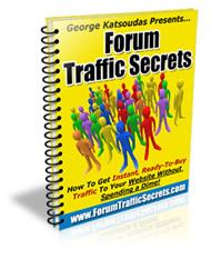 forum traffic secrets with master resale rights