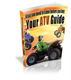 Your AtV Guide With Master Resale Rights | eBooks | Sports