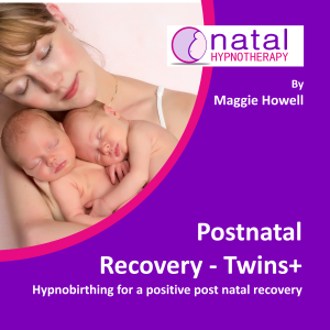 hypnobirthing for post natal recovery with twins+