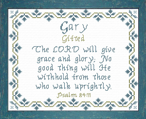 name blessings -  gary