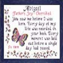 Name Blessings -  Abigail 5 | Crafting | Cross-Stitch | Other