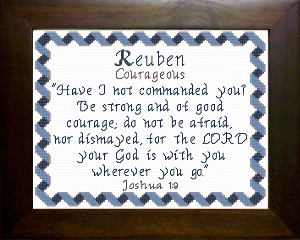 Name Blessings -  Reuben | Crafting | Cross-Stitch | Other