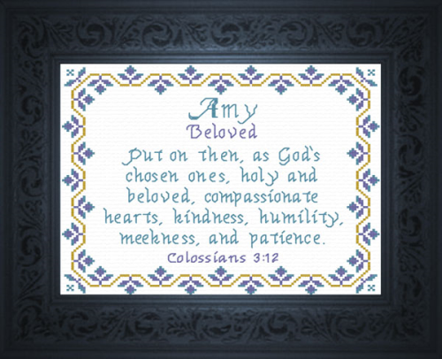 First Additional product image for - Name Blessings -  Amy 2