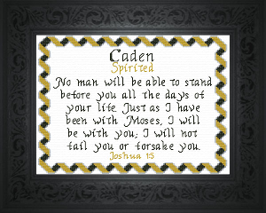 name blessings -  caden 2