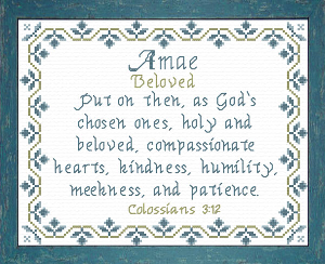 name blessings - amae