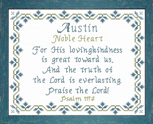name blessings -  austin