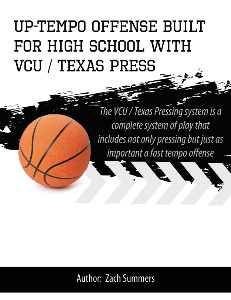 uptempo offense built for high school with vcu / texas press